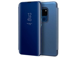 Capa Huawei Mate 20 Clear View Azul