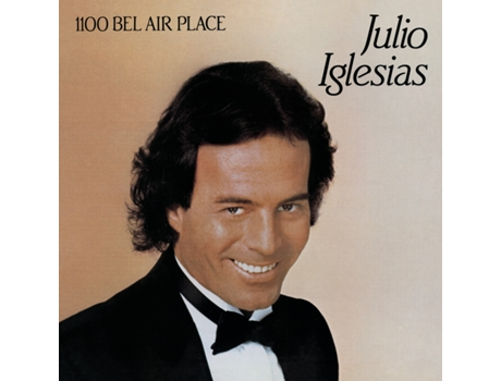 CD  Julio Iglesias - 1100 Bel Air Place — Romântica