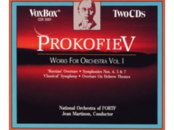 CD French RO/Martinon - Werke für Orchester Vol.1 (2CDs)