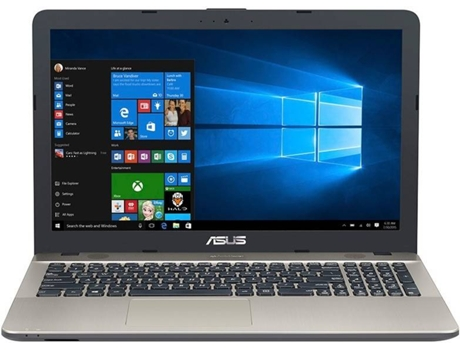 Portátil 15.6'' ASUS A542UR-37A93CB1 — Intel Core i3-7100U | 4 GB | 1 TB HDD | NVIDIA GeForce MX 930