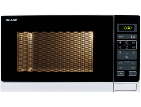 Micro-ondas SHARP R342INW — 25L / 900W / Digital