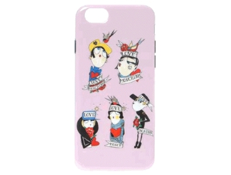 Capa MOSCHINO Soft Case Figures iPhone 6 e 6s — Soft Case Figures