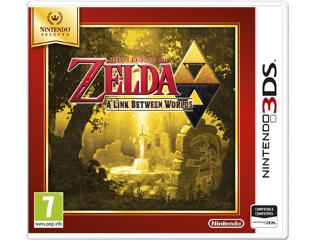 Jogo Nintendo 3DS The Legend of Zelda: A Link Between Worlds — Ação/Aventura / Idade Mínima Recomendada: 7