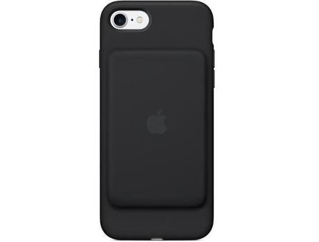 Capa APPLE Smart Battery  iPhone 7, 8 Preto — Compatibilidade: iPhone 7, 8