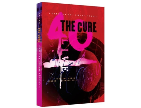 2 DVD The Cure - Curaetion 25-Anniversary