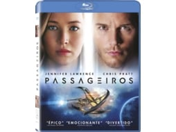 Blu-Ray Passageiros — De: Morten Tyldum | Com:  Jennifer Lawrence, Chris Pratt, Michael Sheen