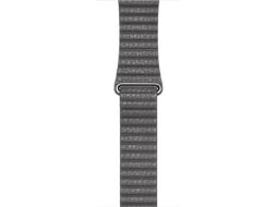 Bracelete APPLE Watch  Storm Gray Leather Loop - L — 42mm | Smartwatch não incluído