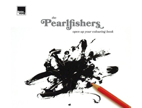 CD The Pearlfishers - Open Up Your Colouring Book