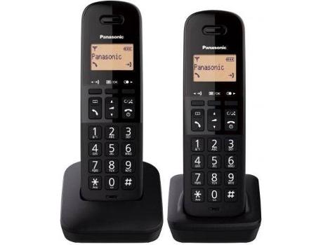 TELEFONE FIXO DECT DUO BASICO PRETO | [7252510 ]