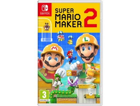 Jogo Nintendo Switch Super Mario Maker 2 (Plataformas - M3)