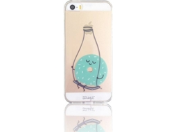 Capa MR. WONDERFUL Donut iPhone 5, 5s, SE Azul — Compatibilidade: iPhone 5, 5s, SE
