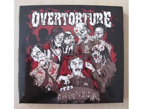 CD Overtorture - At The End The Dead Await
