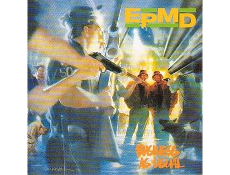CD EPMD - Business As Usual — Pop-Rock