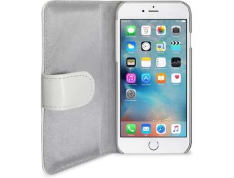 Capa ARTWIZZ SeeJacket Leather iPhone 6, 6s Branco — Compatibilidade: iPhone 6, 6s, 7 ,8