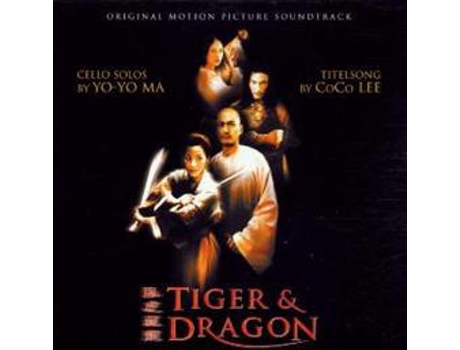 CD Tan Dun - Tiger & Dragon (Original Motion Picture Soundtrack)