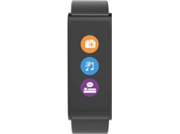 Smartwatch MY KRONOZ ZeFit 4 Preto — Bluetooth | 80 mAh | Android e iOS