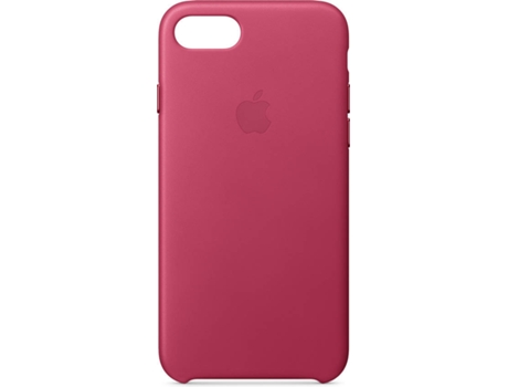 Capa APPLE Leather iPhone 7, 8 Rosa — Compatibilidade: iPhone 7, 8