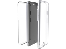 Capa MUVIT Crystal 3D iPhone 7, 8 Transparente — Compatibilidade: iPhone 6, 6s, 7 ,8