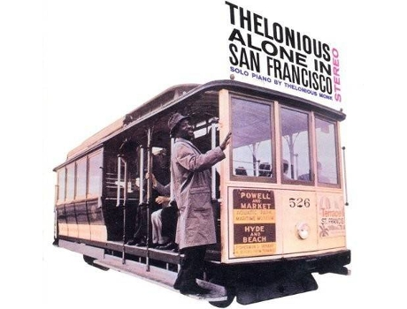 Vinil LP Thelonoius Monk - Alone in San Francisco — Jazz