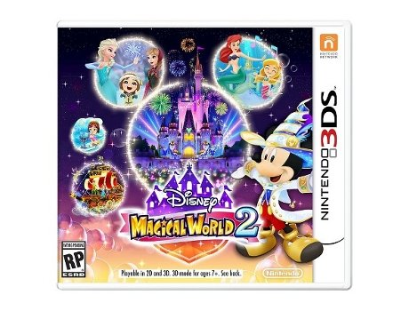Jogo Nintendo 3DS Disney - Magical World 2