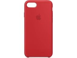 Capa APPLE iPhone 7, 8 Silicone Vermelho — Compatibilidade: iPhone 7, 8