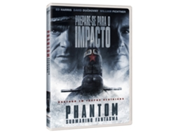 DVD Phantom - Submarino Fantasma — De: Todd Robinson | Com: Ed Harris,David Duchovny,William Fichtner,Lance Henriksen,Johnathon Schaech