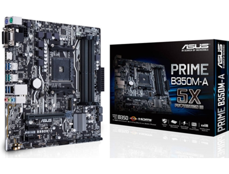 Motherboard ASUS PRIME B350M-A AM4 — AM4 / AMD B350