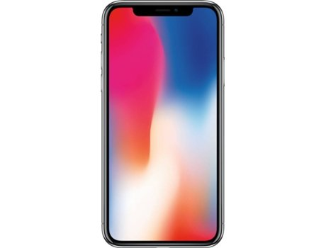 iPhone X APPLE (5.8'' - 3 GB - 256 GB - Prateado) — 3 GB RAM | Single SIM | 2 Câmaras traseiras
