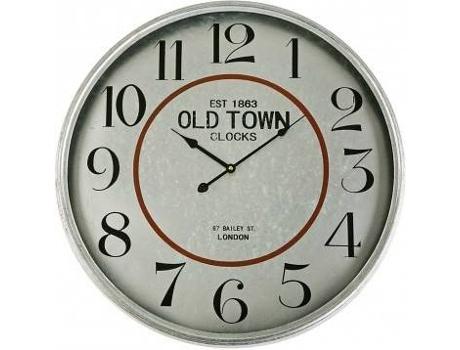 b6c11ed6e4a Relógio Parede VERSA Metal Old Town 60C