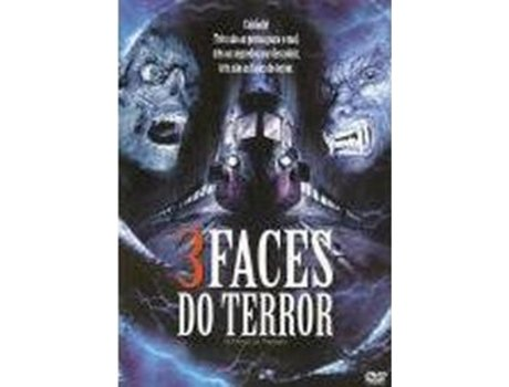 DVD 3 Faces do Terror — De: Sergio Stivaletti | Com: John Phillip Law, Andrea Bruschi