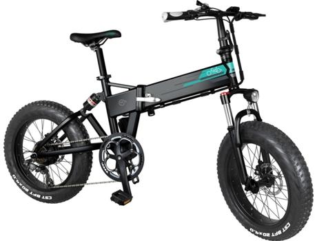 FIIDO - Bicicleta Elétrica de Montanha FIIDO Dobrável 20 M1 (Autonomia: 60/80 km  Velocidade Máx: 25 km/h)