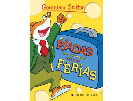 Livro As Piadas Mais Divertidas Sobre as Férias — Do autor Geronimo Stilton
