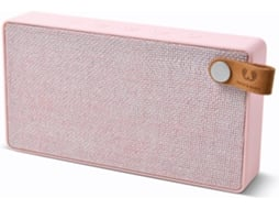 Coluna Bluetooth FRESH 'N REBEL Rockbox Slice Fabric (Rosa - 2x3W - Autonomia: 10 horas) — Bluetooth | 3W | Bateria: Até 10 horas