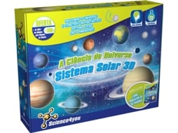 Kit SCIENCE4YOU A Ciência do Universo: Sistema Solar 3D — Science4You