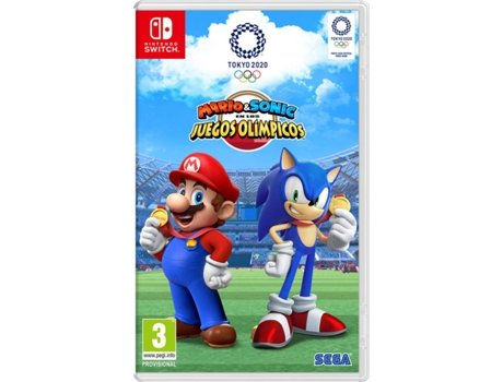 Jogo Switch Mario & Sonic at the Olympic Games Tokyo 2020 (Desporto - M3) | [6935865 ]