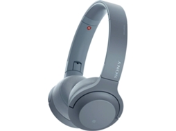Auscultadores Bluetooth SONY H.ear On 2 (Over Ear - Microfone - Azul) — Over Ear | Microfone | Atende chamadas