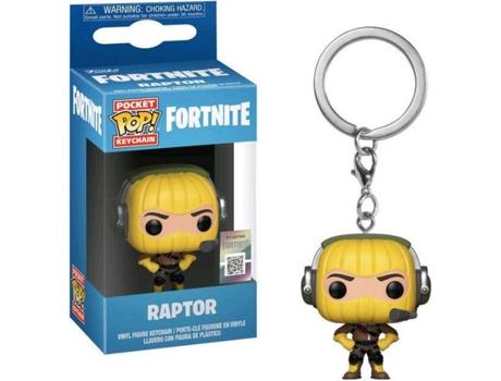 Porta Chaves Funko Pop Fortnite S1a Raptor
