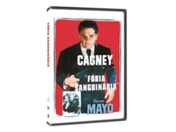 DVD Fúria Sanguinária — De: Raoul Walsh | Com: James Cagney, Virginia Mayo, Edmond O'Brien