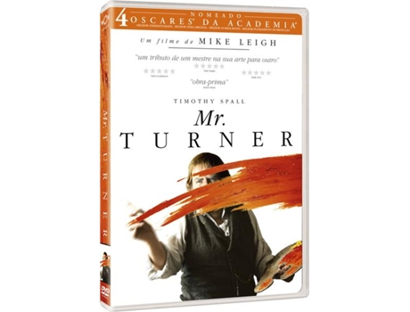 DVD Mr. Turner — De: Mike Leigh | Com: Timothy Spall, Paul Jesson, Dorothy Atkinson