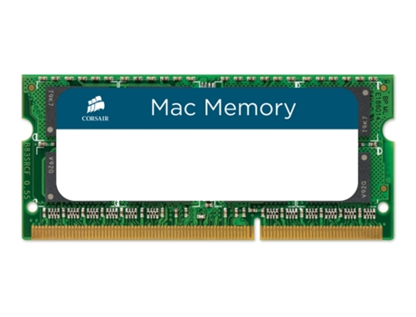 Memória RAM SODIMM CORSAIR DDR3 8GB 1333 MHz Apple Qualified — 8 GB | 1333 MHz | DDR3