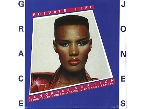 Vinil Grace Jones - Private Life/She's Lost Control — Pop-Rock