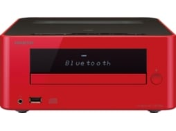 Aparelhagem Hi-fi ONKYO Cs-265 Red — 20 W | Bluetooth