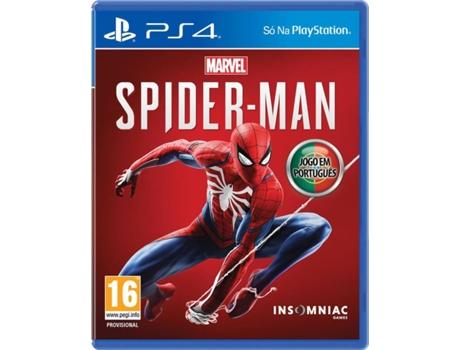 Jogo PS4 Marvel's Spider-man (Edição Normal) | [6547359 ]
