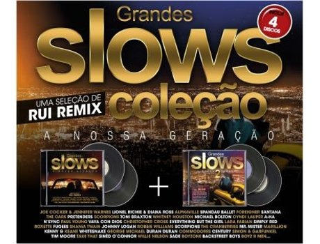 CD Vários - Pack Grandes Slows Vol1 + Grandes Slows Vol.2 — Romântica