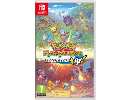 Jogo Nintendo Switch Pokémon Mystery Dungeon: Rescue Team DX (RPG - M7)