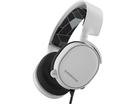 Microauscultadores Gaming Gaming STEELSERIES Arctis 3 Branco — Com Fios