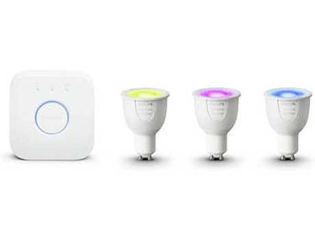 Kit Smart Lighting PHILIPS Hue GU10 — Kit Smart Lighting