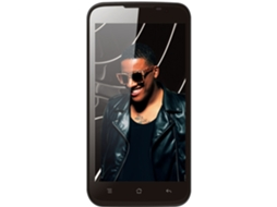 Smartphone BLING Anselmo One Preto — Android 4.4 / 5'' / Octa Core 1.4GHz