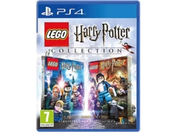 Jogo PS4 Lego Harry Potter Collection — Ação/Aventura / Idade mínima recomendada: 7