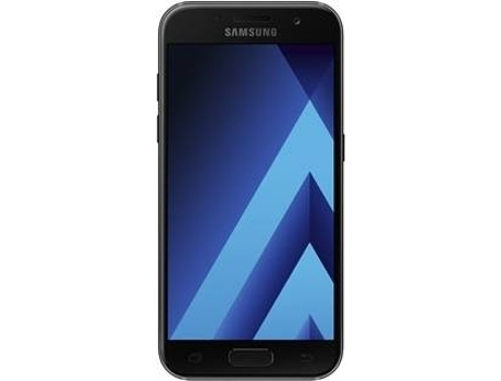 Smartphone SAMSUNG Galaxy A3 SS 2017 Preto — Android / 4.7'' / Octa-Core A53 1.6GHz